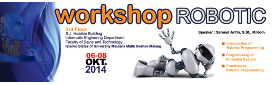 Workshop Robotic 2014