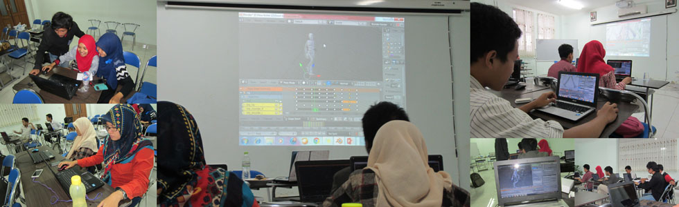 Workshop Animasi 3D bersama Javanima (12 November 2015)